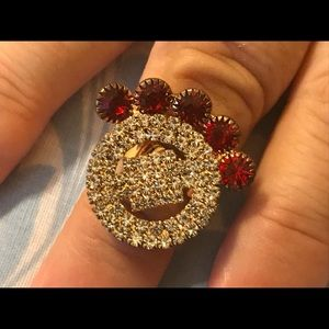 Jewelry - Mother Day Gift Womens Ring Fashion Gold Red